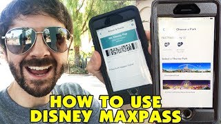 HOW TO USE DISNEY MAXPASS - In Park Demo
