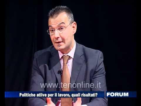 TEN - FORUM 15-11-2011 - Politiche attive per il lavoro, quali prospettive