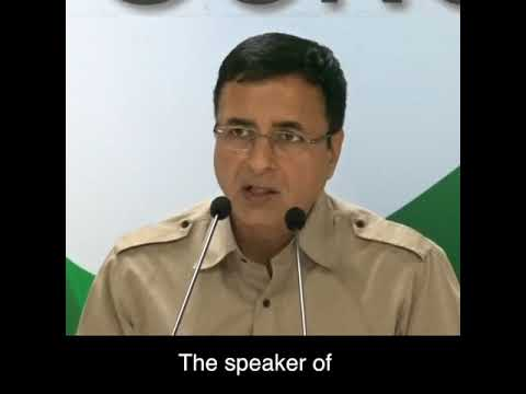 Highlights Of The AICC Press Briefing By Randeep Surjewala On BJP's Corruption
