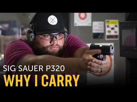 Sig P320   My Everyday Carry (My EDC)   Why I Concealed Carry