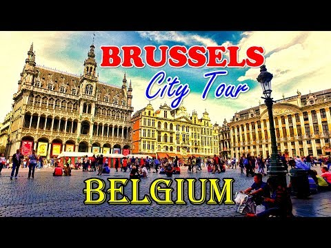 Brussels City Tour - Must watch before visiting Brussels l B