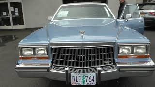 1989 Cadillac Brougham For Sale At Affordable Classics Inc.