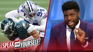 Jalen Hurts looked like a rookie in Eagles' loss to Cowboys — Acho | NFL | SPEAK FOR YOURSELF