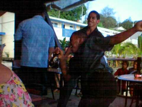 Tongans Doing Azonto at Wedding