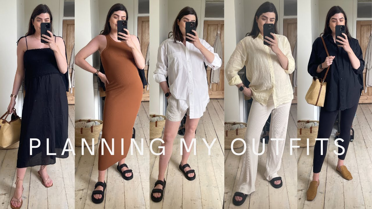 Planning My Outfits For The Week   THE DAILY EDIT   The Anna Edit