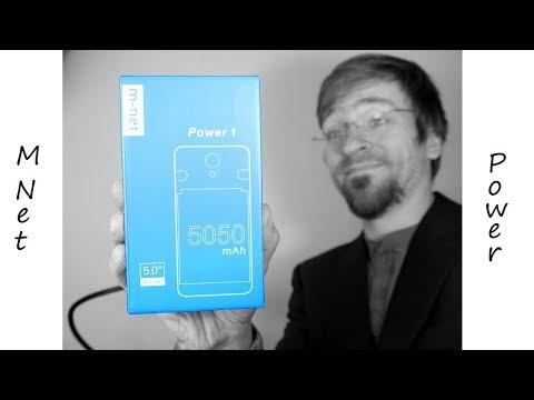 41€ Smartphone M-Net Power - 5050mAh - Genug Energie für eine Mondbasis ? - Unboxing