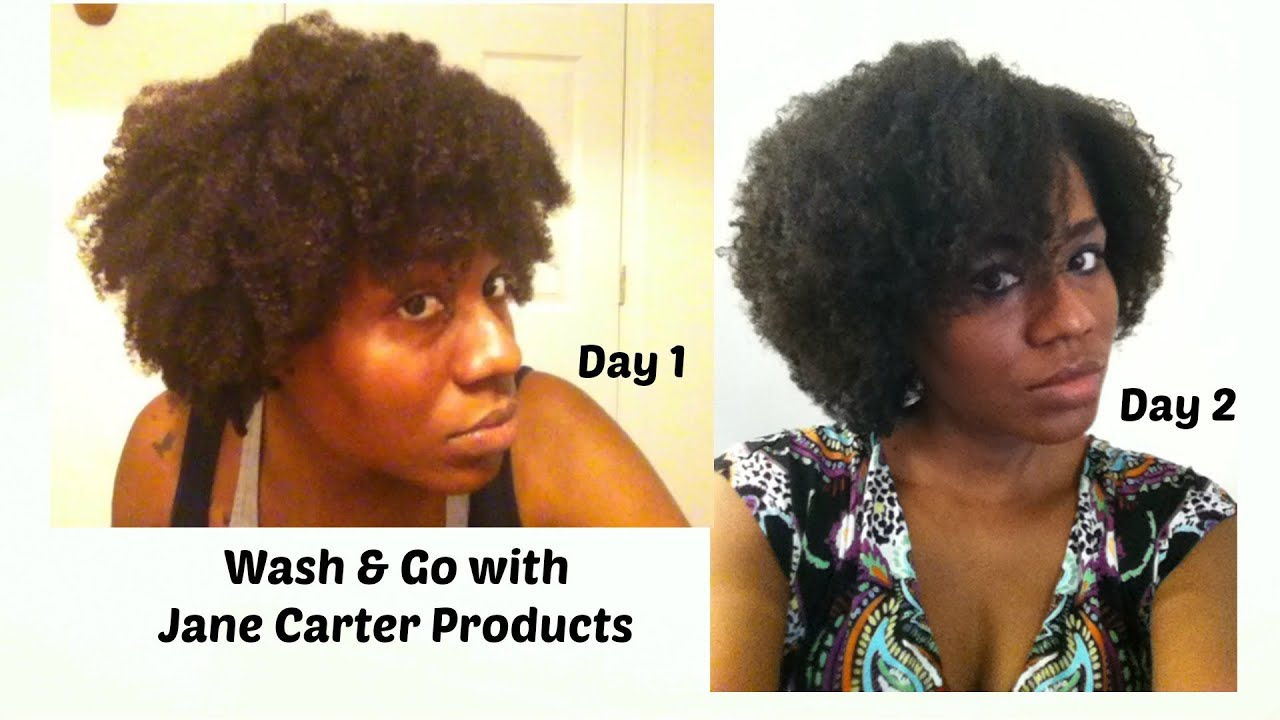 Challenge 4 Jane Carter Products Wash And Go Youtube
