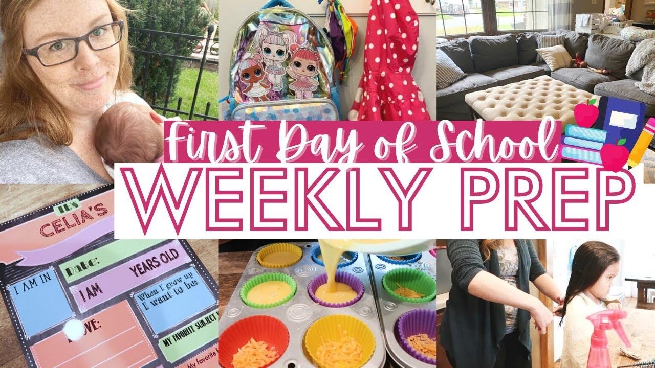 Crabby Mama + Kindergarten Prep || WEEKLY PREP MOM OF 3