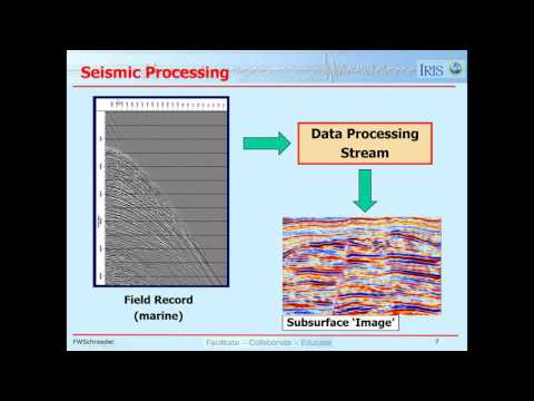 Lesson 5  - The Seismic Method