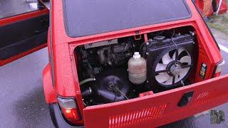 Fiat 126p swap 1.6 140KM Honda Civic VTEC Tor Łódź