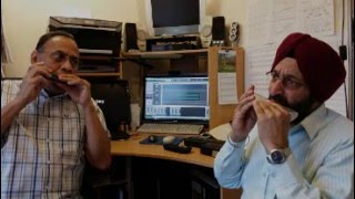 Aankho Hi Aankho Mein - Duet on Harmonica