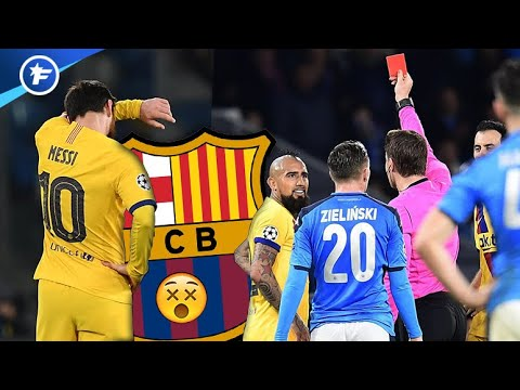 Soirée Difficile Pour Le Barça Contre Naples   Revue De Presse