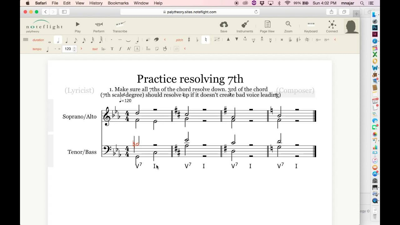 How to resolve a 7th chord youtube how to resolve a 7th chord hexwebz Choice Image