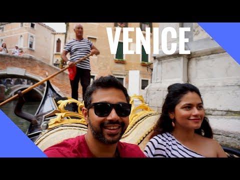 Venice Italy - We had to do try the Gondola!