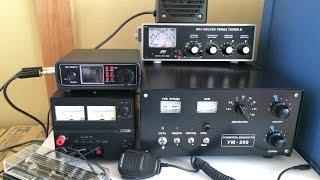 Mini SW2016& УМ-200(GU33B) 200W power test