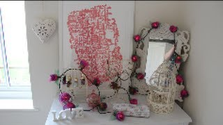 Bedroom Tour - Shabby Chic, Cute And Girly Ideas