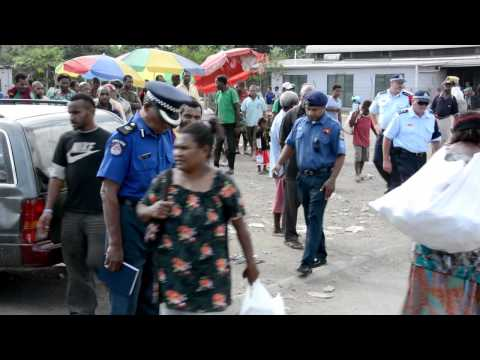 Australian Federal Police Officers Arrive To Work In Papua New Guinea