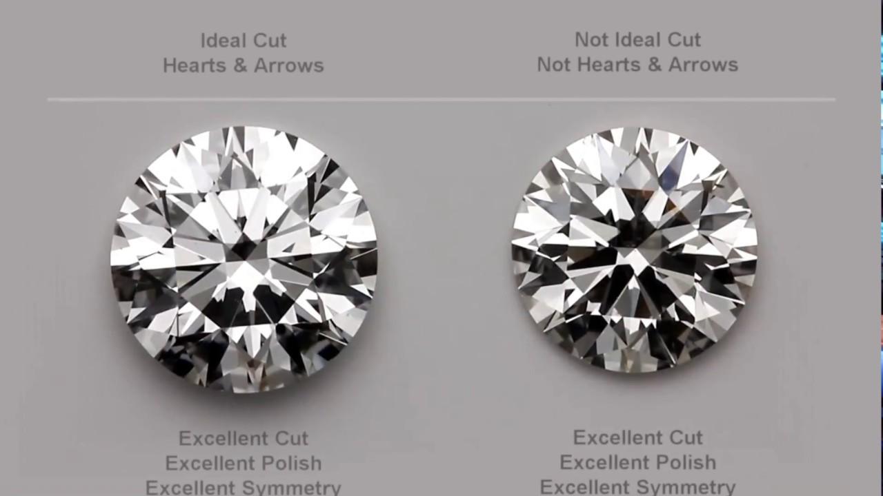 hearts and arrows diamond education gia diamonds youtube