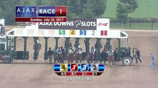 Ajax Downs July 23, 2017 Race 1
