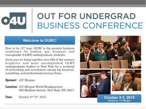 OUBC Virtual Info Session -- Out for Undergrad Business Conference