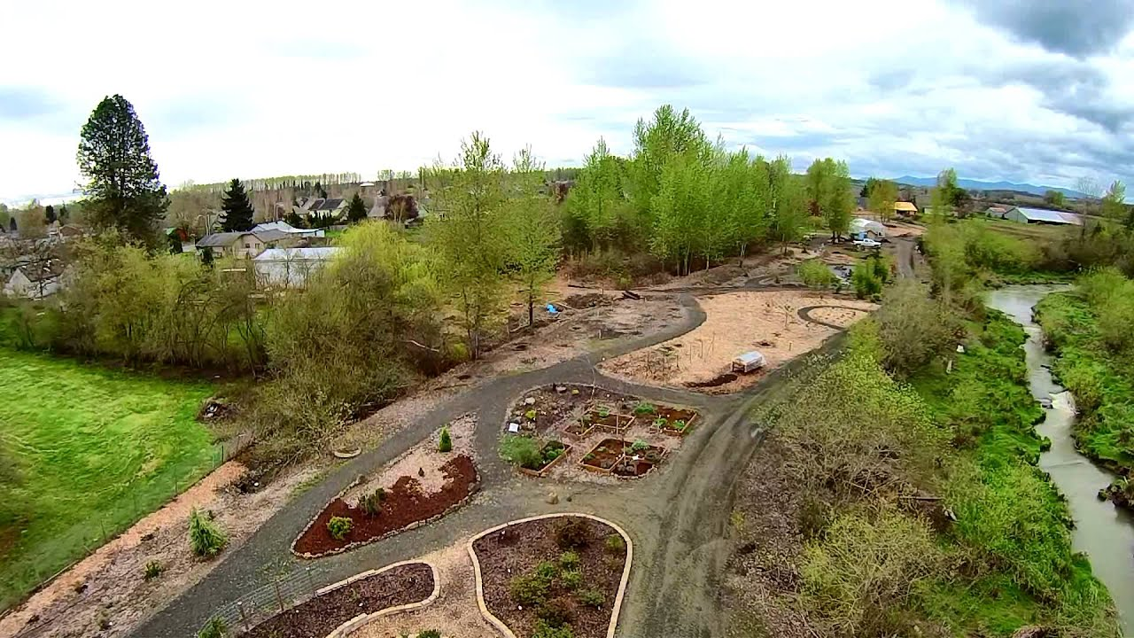 Master Gardeners Inspiration Garden - Independence, Oregon - YouTube