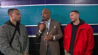 Stephen Curry & Seth Curry Interview - February 16, 2019 All-Star Saturday Night