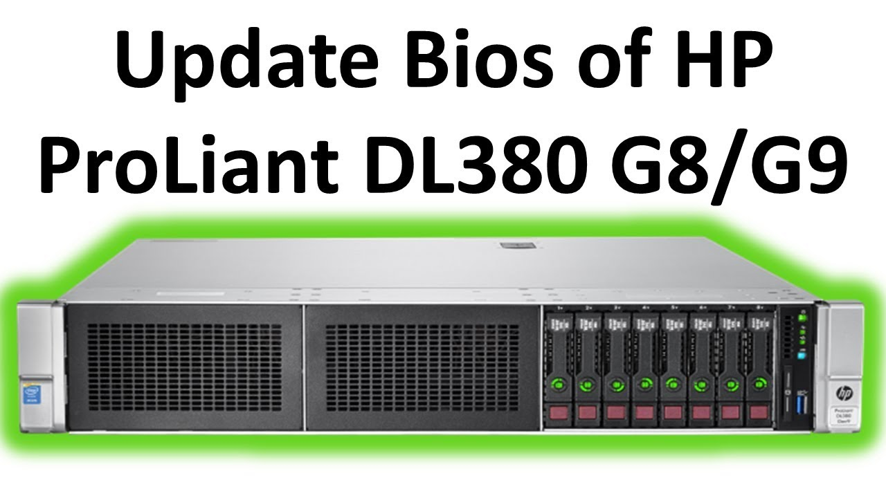 How to upgrade firmware of a HP ProLiant G9 server ...