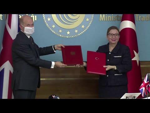 Turkey, UK Extend Their Free-trade Deal