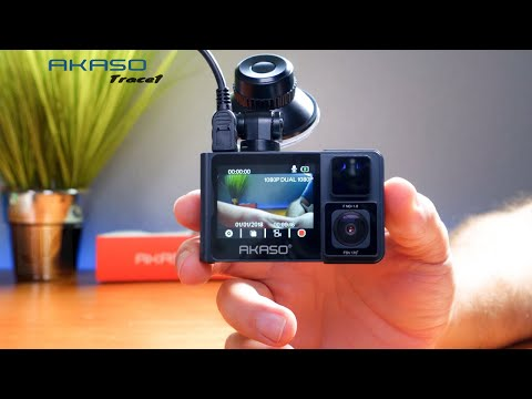 AKASO - 1080P Dual Camera - Front/Rear DashCam