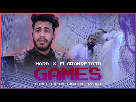 MADD x ElGrandeToto - Games (Prod by Naji Razzy) (Reaction)
