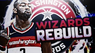 ADDING ANOTHER SUPERSTAR!! WIZARDS REBUILDS!! NBA 2K18