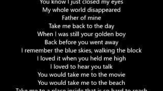 Everclear - Father of Mine - Lyrics Scrolling