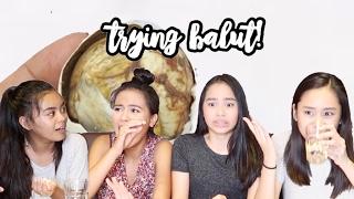 Balut and Penoy Challenge 2017! | ThatsBella
