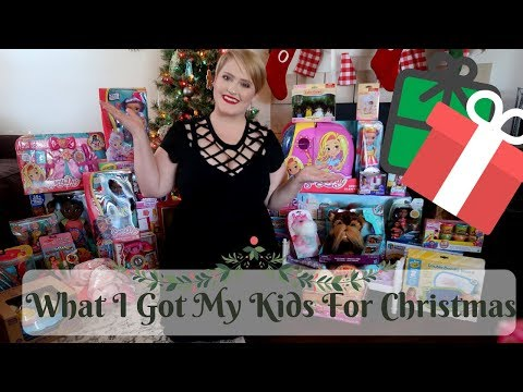 HUGE WHAT I GOT MY KIDS FOR CHRISTMAS 2018  bf0f41229