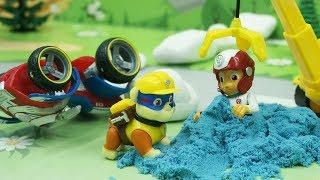Игрушки Щенячий Патруль в новом развивающем видео для самых маленьких детей