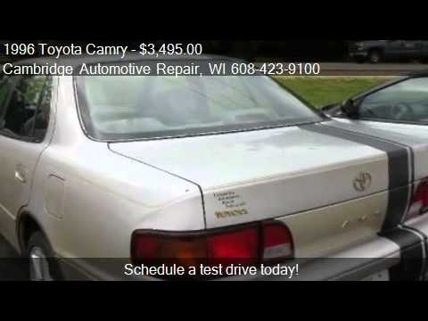 1996 toyota camry le for sale in cambridge wi 53523 youtube. Black Bedroom Furniture Sets. Home Design Ideas