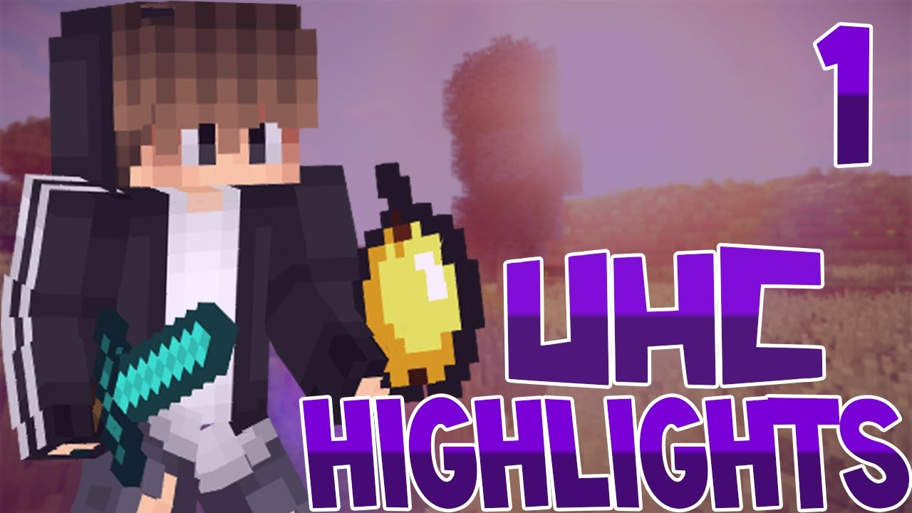 Minecraft: UHC Highlights #1