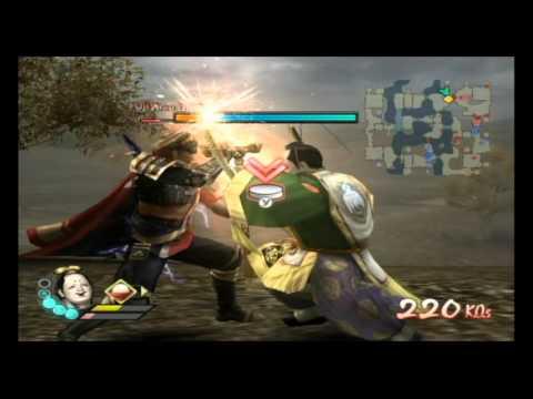 Samurai Warriors 3 (Wii): Yoshimoto Imagawa in SAMURAI SOCCER