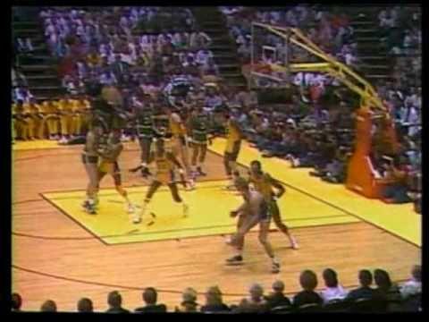 1984 NBA Finals: Celtics at Lakers, Gm 4 part 7/13