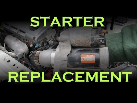 Starter Replacement: Toyota / Lexus