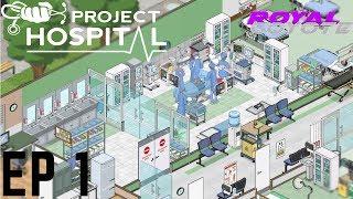 Project Hospital - St Michael Hospital - EP1 - Walkthrough - Gameplay - Tutorial - Letsplay