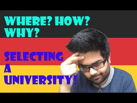 Selecting a University in Germany||Fees/Eligibility/Job Opportunity/ Language||