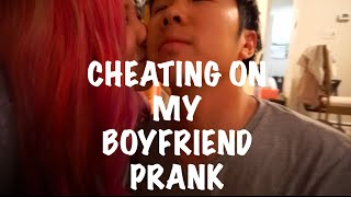 prank cheating on boyfriend prank