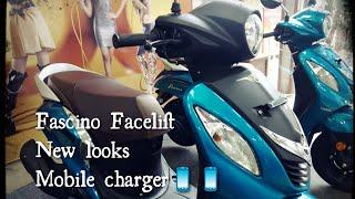 Yamaha Fascino 2018 Facelift || New changes|| Mobile charger|| All good and bad sides full review
