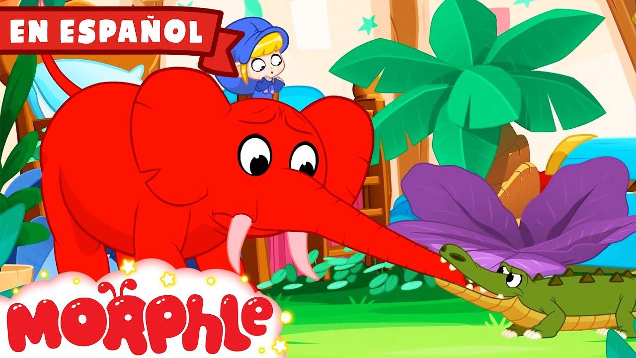 Morphle en Español - ¡Animales Aterradores en la Casa de Morphle! |  Caricaturas para Niños