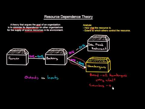 Resource Dependence Theory | Introduction To Organisations | MeanThat