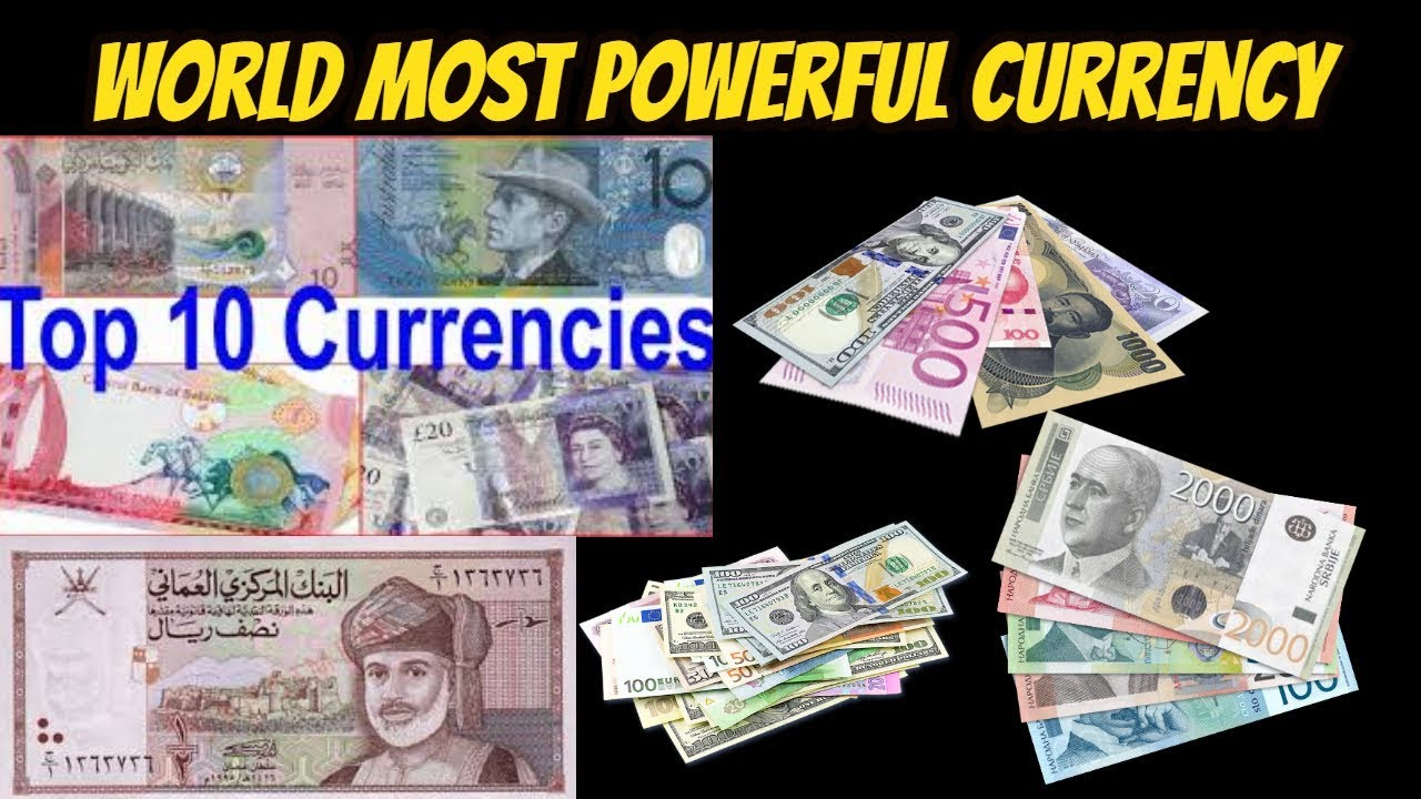 Top 10 Most Valuable Currencies
