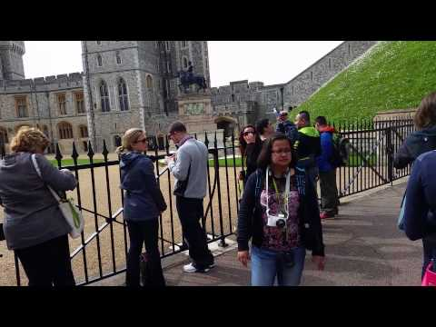 Windsor Castle tour 2014