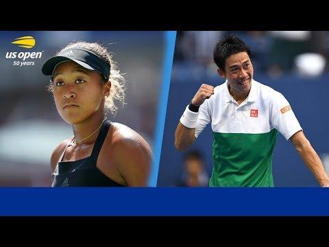 2018 US Open Memorable Moments: Naomi Osaka & Kei Nishikori