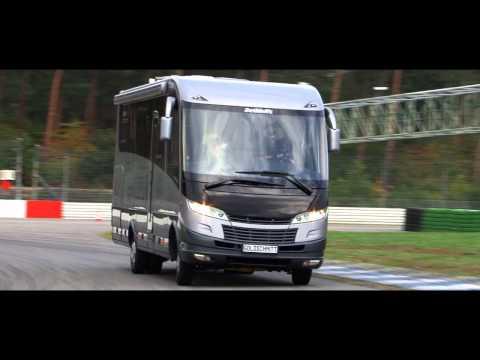 Trailer Markus Winkelhock testet Hydropneumatisches Fahrwerk von Goldschmitt